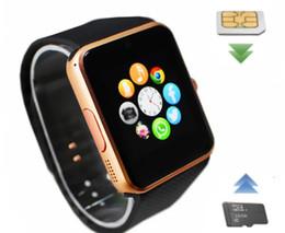 GT08 Bluetooth Akıllı İzle DZ09 Smartwatchs NFC Android Samsung ve IOS Apple iphone Smartphone için Sağlık Bilezik nereden