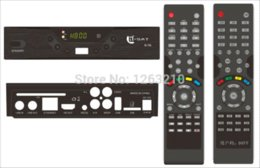 Wholesale Decoder Sat - FREE SHIPPING QSAT Q SAT Q-SAT Q11G Q13G Q15G Q23G GPRS dongle Decoder DVB-S2 remote control for Africa