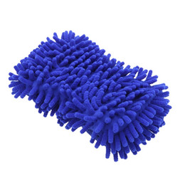 Wholesale Car Washing Mitt - Microfiber Snow Neil fiber high density car wash mitt car wash gloves towel