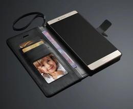 huawei p8 max cubre Rebajas Para Huawei P8 Max Funda con tapa colorida y original con tapa colorida Funda ultra delgada delgada de cuero de lujo para Huawei Ascend P8 Max