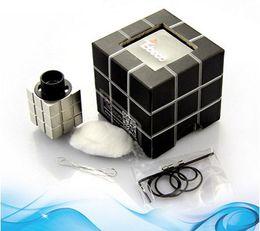 Wholesale Square Rubik - Tebeco Rubik RDA cube square cubic Top airflow contol Mod Rebuildable Atomizer vs HELLBOY Baal Cloud Champ turbo Troll GA mini Goblin RBA