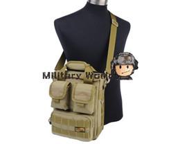 "Wholesale Order Notebook Computer - 10"" LooYoo A65 Airsoft Military 1050D Tactical Laptop Handbag Notebook Shoulder Bag and Carrying Computer Case -Black Tan order<$18no track"