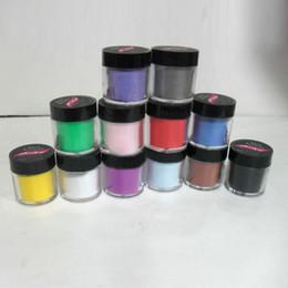 Ongles acryliques décorés en Ligne-Kit de vernis à ongles en poudre UV en gros de couleur acrylique taille 12 Jumbo taille décorer