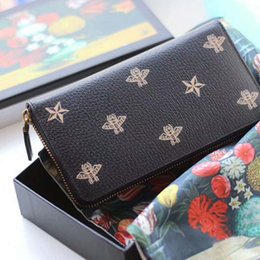 Wholesale Manufacturers Selling - 2018 New Women's Men's Popular famous designer brand high-grade wallet lady fashion long zipper hand bag manufacturers selling high quality
