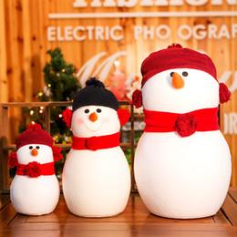 акустические игрушки ежи оптом Скидка Рождественские украшения рождественские подарки хлопок плюшевые + ПВХ снег куклы куклы висит украшения детские игрушки бесплатная доставка