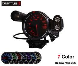 """Tansky - Defi 3.75 """"TACHIMETRO MOTORE PASSO-PASSO / INDICATORE AUTOMATICO / CONTATORE AUTO 7 colori Colore predefinito ROSSO TK-GA375DI-7CC da"""