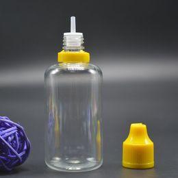 Canada Bouteilles en plastique de 50 ml Airless Bottle Petites bouteilles en plastique de 50 ml avec capuchon évident pour la sécurité des enfants à toute épreuve pour jus de jus liquide Offre