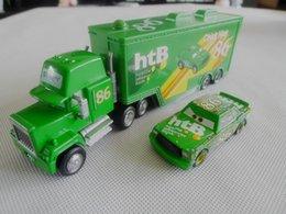Wholesale Hauler Cars - Wholesale-Pixar Cars NO.86 Chick Hicks + Chick Hicks Hauler Truck New Loose