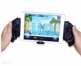 Wholesale Bluetooth Controller Ipega - iPega PG-9023 PG-9025 Wireless Bluetooth Game Pad Controller For Cellphone iphone samsung ipad Tablet iPod PC Black