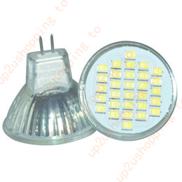 Wholesale Gu4 3w - 2x 3W GU4 MR11 30*Led Light Bulb 2835 SMD LED Home Energy Saving 300LM Spotlight for free shipping