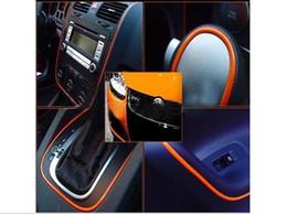 Wholesale Car Decoration Trim - Lager Size 120 inch 3 M DIY Universal Car Interior Exterior Molding Decoration Trim Strip 4 colors available order<$18no tracking