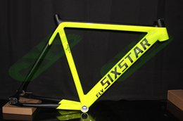Wholesale Custom Black Road Bikes - Wholesale-52 54 56cm custom color LOGO fixie fixed gear bicycle Track Bike DIY Frame paint personal tailor red green glossy black matt