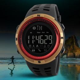 Wholesale Acrylic Call - 2017 new time beauty waterproof smart meters watch bluetooth camera phone call alert fashion men's watch