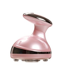 Dispositivo de celulitis cavitación online-Belleza equipPotable RF Cavitación Ultrasónico LED Cuerpo Adelgazante Masajeador Quemador de grasa Anti Celulitis Lipo Radio Frecuencia Masaje Dispositivo de belleza