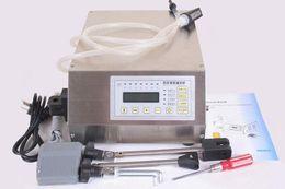 Wholesale Liquid Filling Machines - New Digital Control Pump Drink Water Liquid Filling Machine GFK-160 2-3500ml