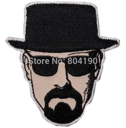 "Wholesale Breaking Bad - 3"" HEISENBERG I AM THE DANGER BREAKING BAD WALTER WHITE UNIFORM BADGE TV MOVIE PATCH"