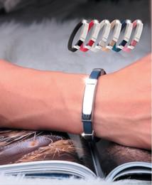 Wholesale Titanium Ion Band - Free Shipping Christmas Gift Health Titanium power Ion 2000 Magnetic Bracelet silicone wristbands Ionic Energy Bands