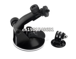 Wholesale Hero Suction - Sale !! GoPro Suction Cup Mount For GOPRO Go Pro Camera Accessories HD HERO 2  3 +Tripod Adapter+Screw+Nut Freeshipping