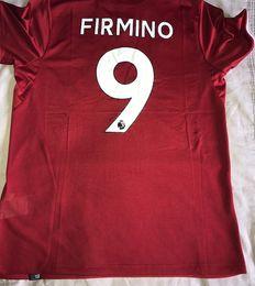 Wholesale Seasons Soccer Jersey - Roberto Firmino home jersey 17 18 season football home red shirt have big size s-xxxxl