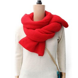 Wholesale Anal Boy - Wholesale-ANAL 4 color Classic lover's cotton scarf boy girl Scarfs Shawl Unisex Winter knitting Neck scarves winter Warm scarf new