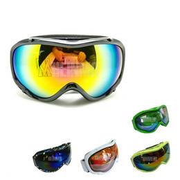 snowboard goggles canada s8hw  NEW BLACK frame sun glasses Tinted UV goggle Anti-Fog Snow Ski Snowboard  Goggles from dropshipping suppliers