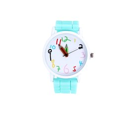 Wholesale Womens Jelly Silicone Watches Wholesale - Watches Watches for Women WOMENS MENS KIDS GIRLS BOYS LADIES GENEVA WRIST WATCH JELLY SILICONE WATCHES Womens Watches