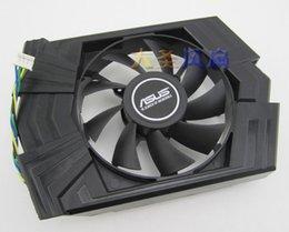 Wholesale Asus Gtx - Original graphics card fan for ASUS GTX 750 Ti FD8015U12S DC12V 0.5A