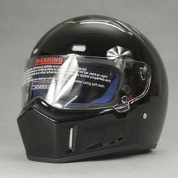 Wholesale Xl Full Face Motorcycle Helmet - Wholesale-DIY Simpson model CRG ATV helmet + SIMPSON sticker Motorcycle racing Full Face helmet WRC WTCC F1 riding helmet