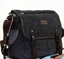 Wholesale Body Trends - The new casual shoulder bag canvas bag men Messenger Messenger men trend diagonal package
