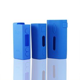 Wholesale E Cigarette Battery Cover - iStick Silicone Protective Case Skin or Cover for Eleaf iStick 20W 30W Vape Battery 12 Colors E Cigarette Cases Instock iSmoka Cases army111