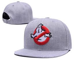 boné fresco da dança Desconto 2018 Nova Marca Street Dance Legal Hip Hop Caps Ghostbusters Snapback Snap Voltar Bonés de Beisebol Chapéus Chapéu Do Osso Frete Grátis