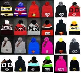 Wholesale Cheap Silk Yarns - BIG Promotion Sports Fashion Beanies cheap Pom Beanie hats Winter Cap Beanie hat Winter hat Woolen Hat High Quality Skull caps Mix order