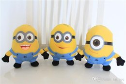Wholesale Despicable Big - 3pcs set Despicable ME Movie Plush Toy 18cm Minion Minions plush toys with tags free shipping