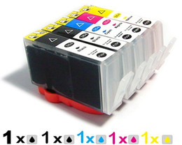 Wholesale Hp 364 Cartridges - 5PCS (1set) ink cartridges for HP 564XL HP 364 XL PHOTOSMART C5324 HP364 B8550 B8553 C6300 C6380 C5300 D5460 D5463 D7560 B109a
