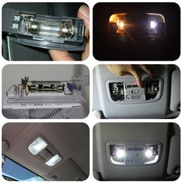 Wholesale Toyota Bulb H11 - 2PCS LED Car Door Welcome Light Case For Audi Toyota For VW Brand Logo Projector Ghost Shadow 3D Courtesy styling