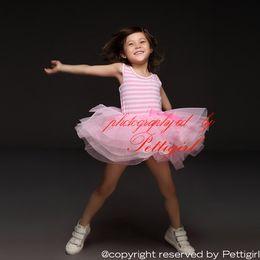 Wholesale Girls Tutu Dress Baby Striped - Pettigirl 2016 New Baby Girl Summer Dress Pink Stripe TuTu Dress For Kids Lovely Princess Party Dress Baby Girl Clothes GD30105-14