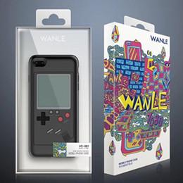 Консольная игра тетрис онлайн-Чехол для телефона Tetris Play Blokus Крышка игровой консоли ТПУ Противоударный защитный чехол для Iphone 6 6s 7 8 Plus Розничная упаковка