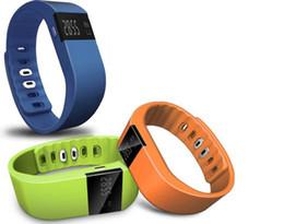 Wholesale Gps Wrist Bands - TW64 Smartband Smart sport bracelet Wristband Fitness tracker Bluetooth 4.0 fitbit flex Watch for ios android xiaomi mi band