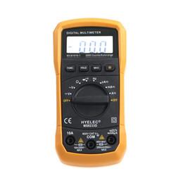 Wholesale Multimeter Autorange - Wholesale-Professional Digital Electrical Multimetro Handheld Tester LCD 2000 Counts Autorange Display Multimeter HYELEC MS8233D