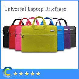 Wholesale Carrying Handle For Bags - Notebook Tablet Laptop Sleeve Case Bag carrying handle briefcase for 11 12 13 14 15inch macbook air pro retina laptop Asus maletin portatin