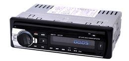 Wholesale Auto Radio Stereo - Car Radio bluetooth MP3 FM USB 1 Din remote control USB port 12V Car Audio bluetooth auto radio blueooth aux in