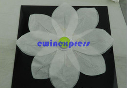 Wholesale Chinese Paper Lanterns Sale - Chinese Paper Lotus Flower Floating Lanterns Birthday Wedding Party Brand 2015 New Good Quality Freeship Hot sale