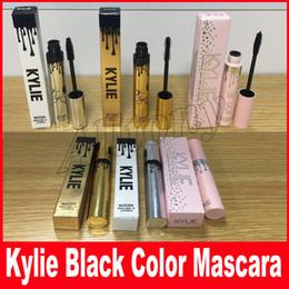 Wholesale Eyelash Dryer - Kylie Jenner Mascara Magic thick slim waterproof mascara Black Eye Mascara Long Eyelash Charming Gold Birthday holiday i want it all Package