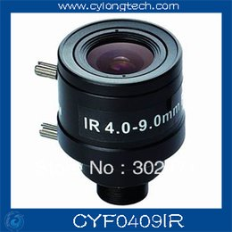 """Wholesale 9mm Lens Security Cameras - cctv camera lens 4-9mm Fixed Iris lens, 1 3"""" M12 mount F1.6 for Security Camera, Free shipping"""