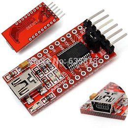 Wholesale Arduino Ftdi Usb - Mini 5V 3.3V FT232RL FTDI USB to TTL Serial Converter Adapter Module for Arduino Free Shipping order<$18no track
