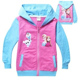 Wholesale Girls Clothing Manufacturers - Fall 2015 new children's clothing wholesale manufacturer wholesale princess jacket made of pure cotton fleece BH1151