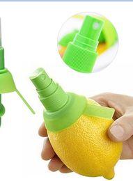 Wholesale Citrus Juicers - New Arrival Home Kitchen Lemon Juice Sprayer Fruit Citrus Spray Mini Squeezer Hand Juicer Cooking Tool Supplies