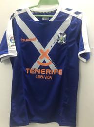 Wholesale Cf Shirt - thai quality 2017 2018 Tenerife CF home away soccer jersey 17 18 free ship football Jerseys shirts