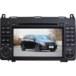 Wholesale Built Mercedes Benz - In Dash DVD Players 2 DIN Win CE 6.0 Car DVD Players for MERCEDES B200 7 Inch Screen DC12V Voltage SD Card Slots Hot Sale 7075