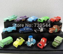 Wholesale Pixar Car Figures Full Set - 14pcs set Pixar Cars 2 Figures Modle Full Set Toys For Children Gifts Free Shipping